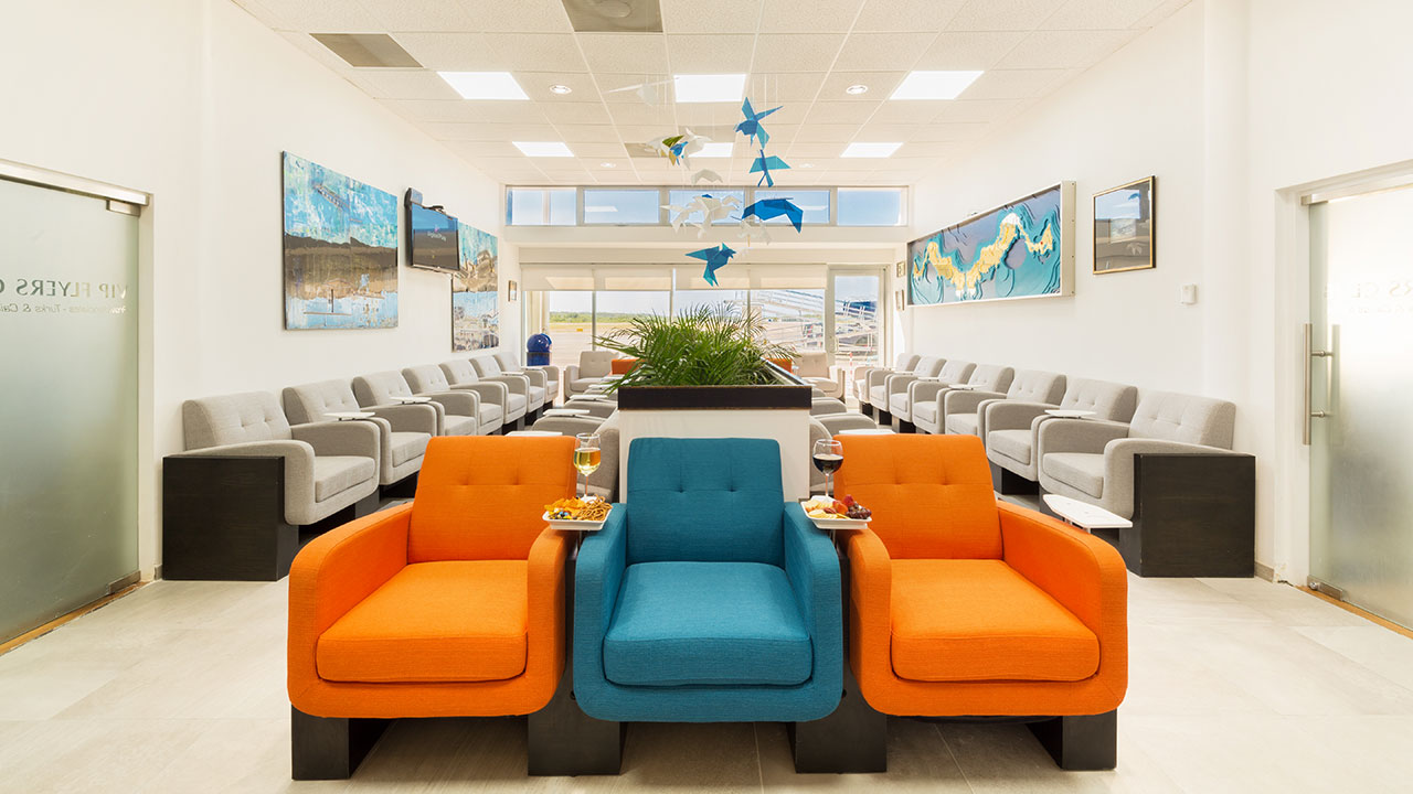 VIP Flyers Club Airport Lounge Providenciales, Turks and Caicos Islands